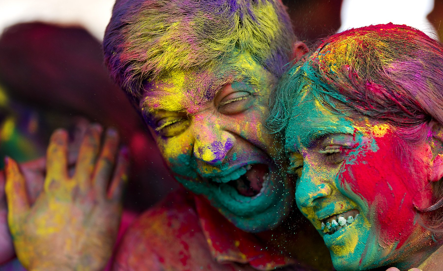 Holi Festival Wallpapers High Quality Download 1800x1100