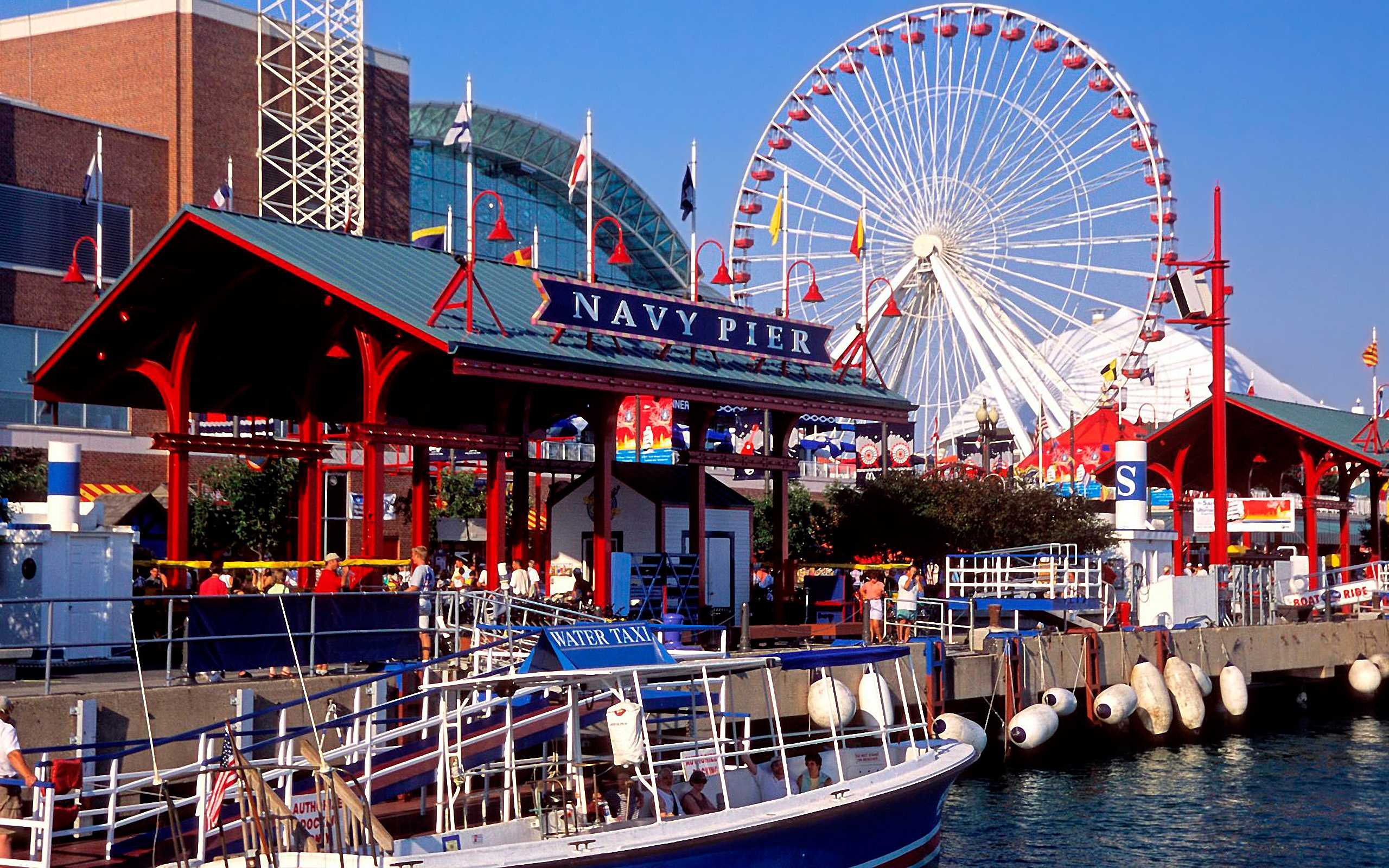 Navy Pier   Chicago Genie 2560x1600
