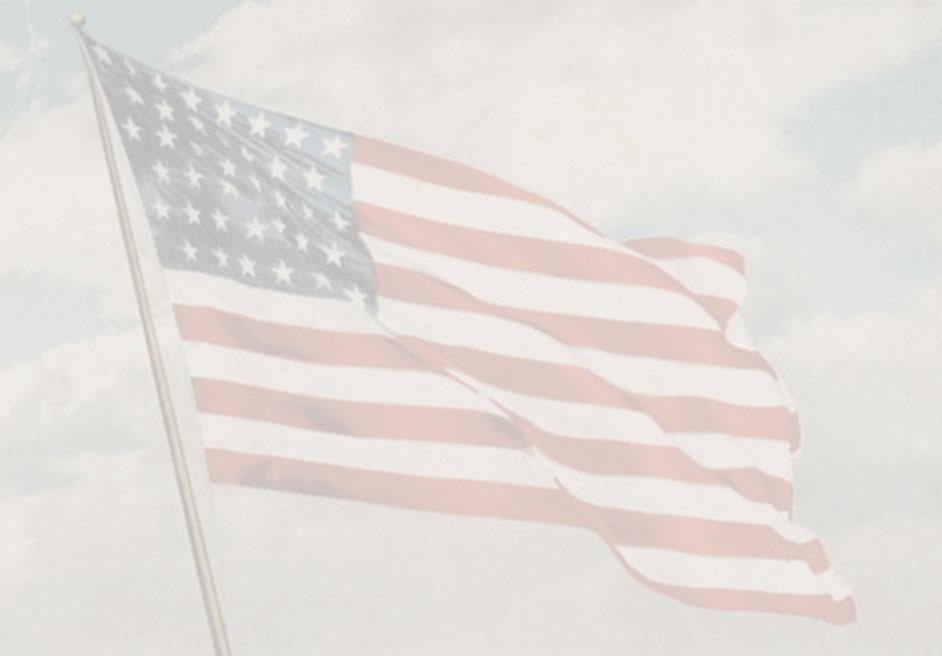 Patriotic flag of United States of America 942x656