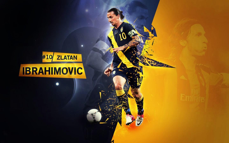 Zlatan Ibrahimovic Football Wallpaper 1440x900