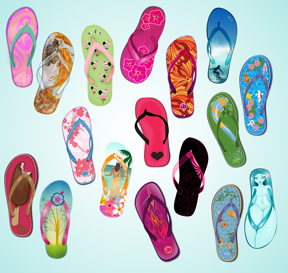 0428d06c7 Flip Flop Summer Collab by vexelove 950x900