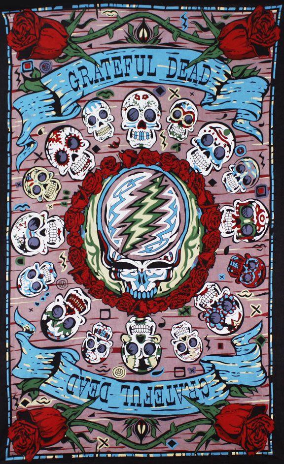 50] Grateful Dead iPhone Wallpaper on WallpaperSafari 576x943