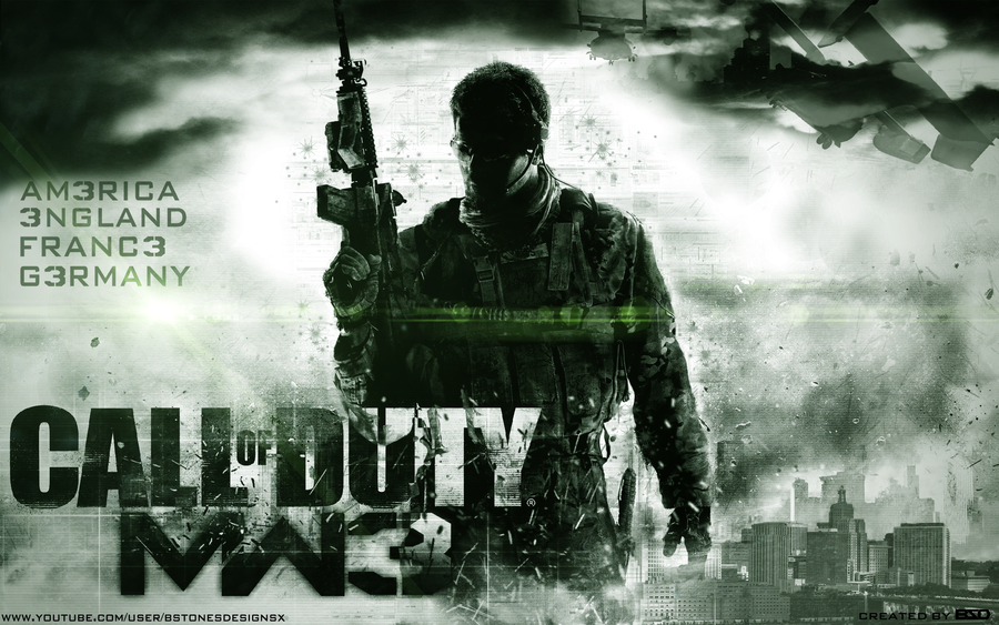 Call Of Duty MW3 Wallpaper by BstonesDesigns 900x563