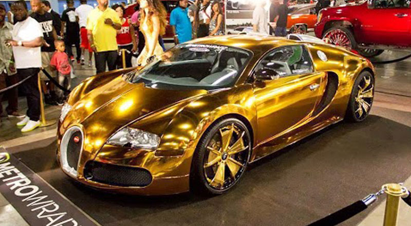 46 Cool Gold Cars Wallpapers On Wallpapersafari