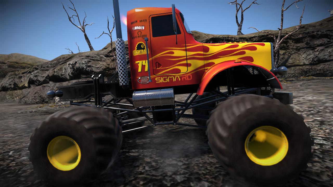 Monster Truck HD Wallpaper For Desktop wallpaper 1280x720