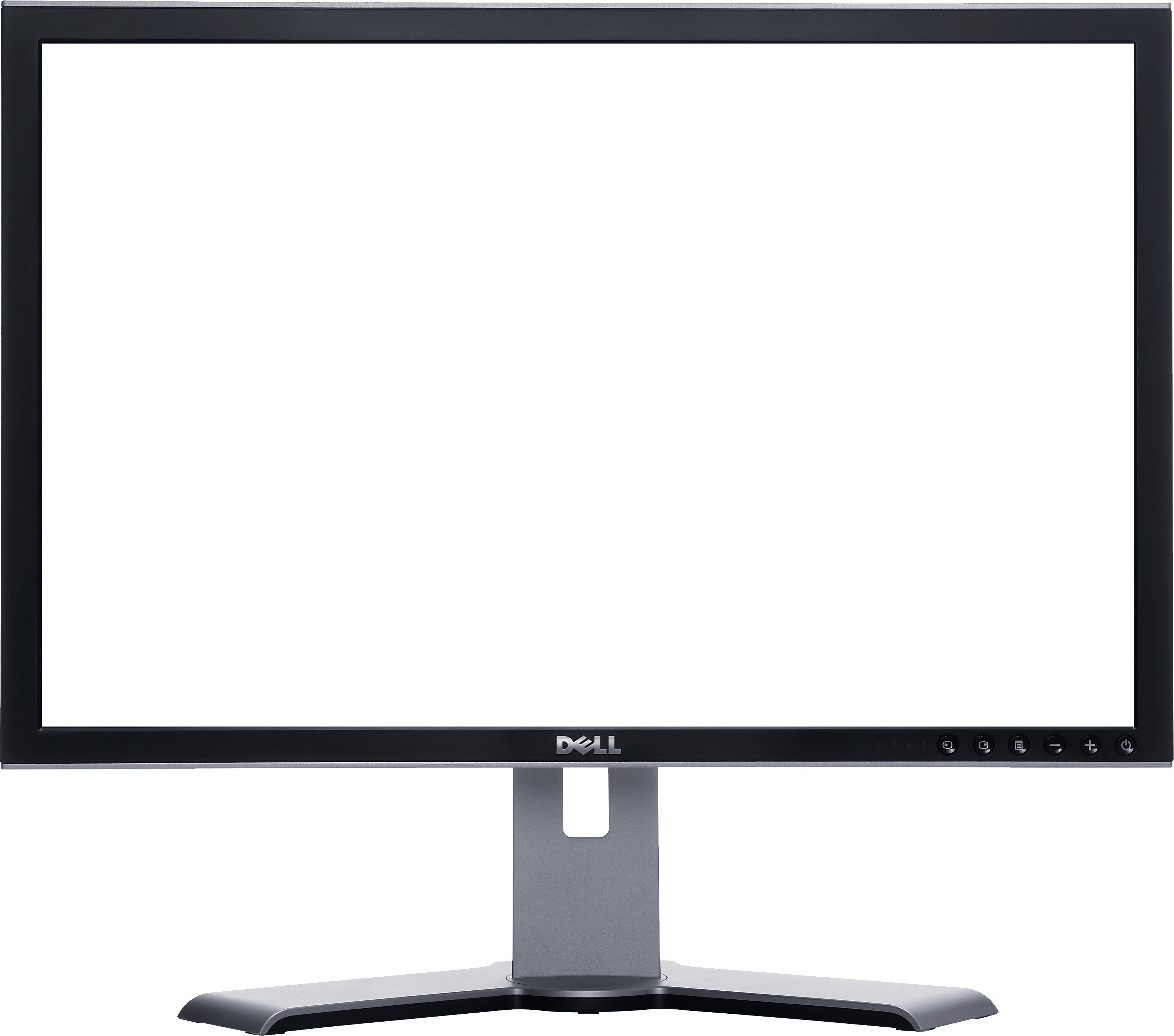 Download PNG image Monitor transparent LCD PNG image 3263x2879