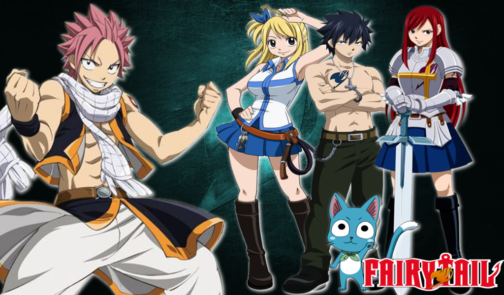 Fairy Tail Wallpaper by Wizplace 1024x600