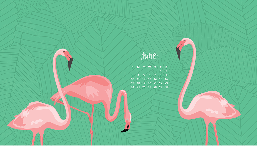 Audrey of Oh So Lovely Blog shares 4 FREE June Desktop Wallpapers 1024x583
