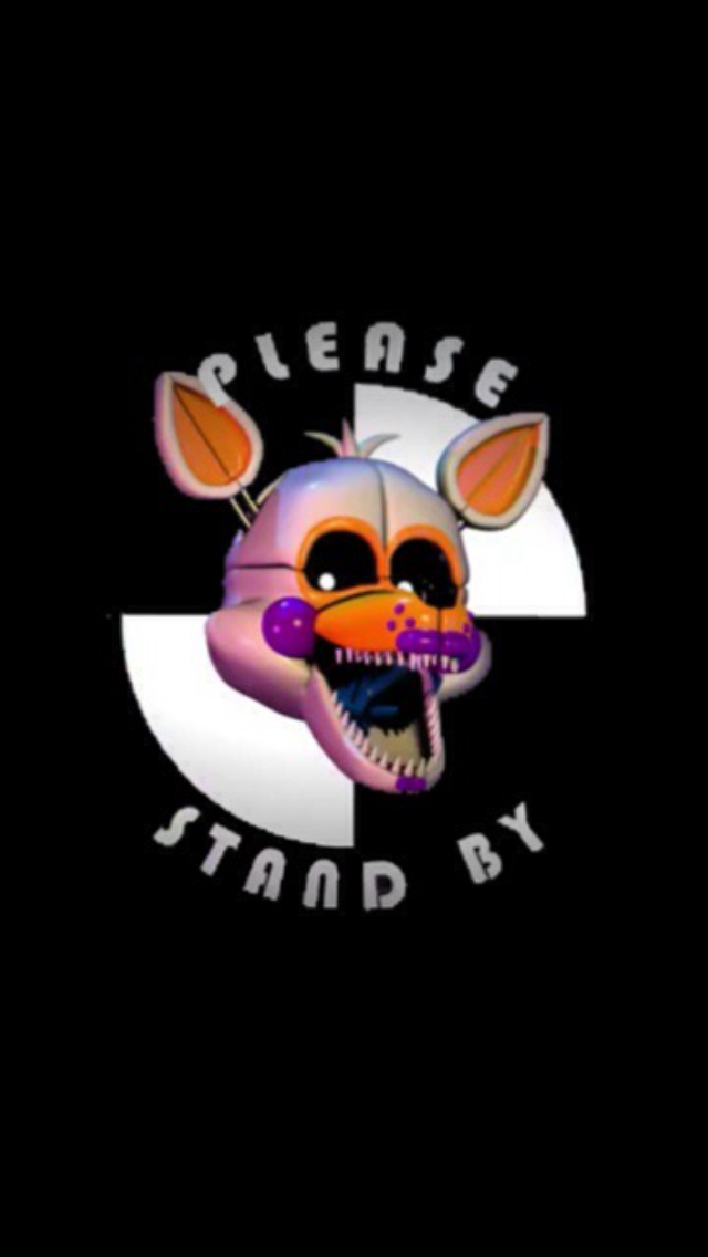 Lolbit Please stand by wallpaper for ipodiphone by 640x1136