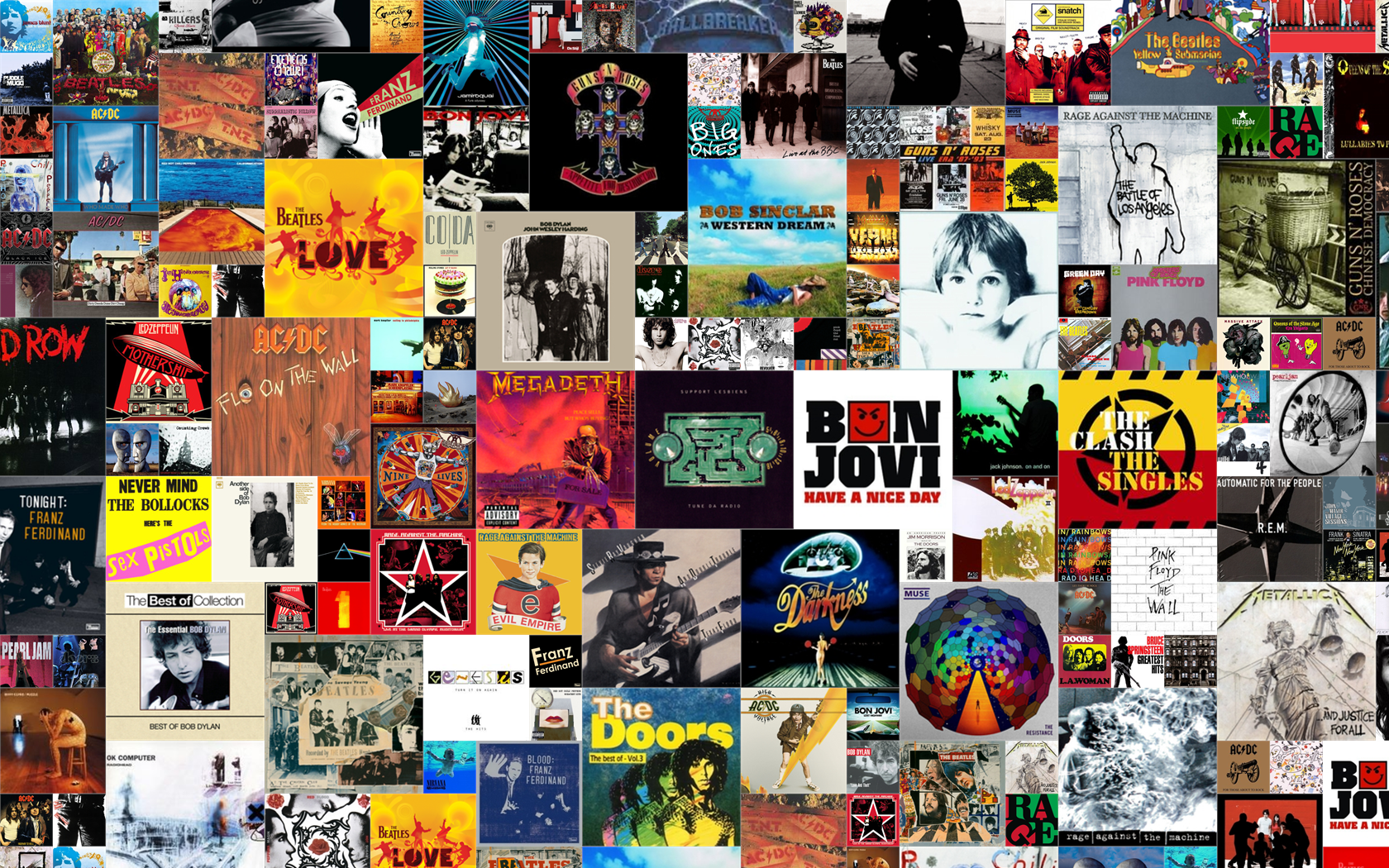 Free Download Album Covers Cover Your Wall By 13lackhat 1680x1050