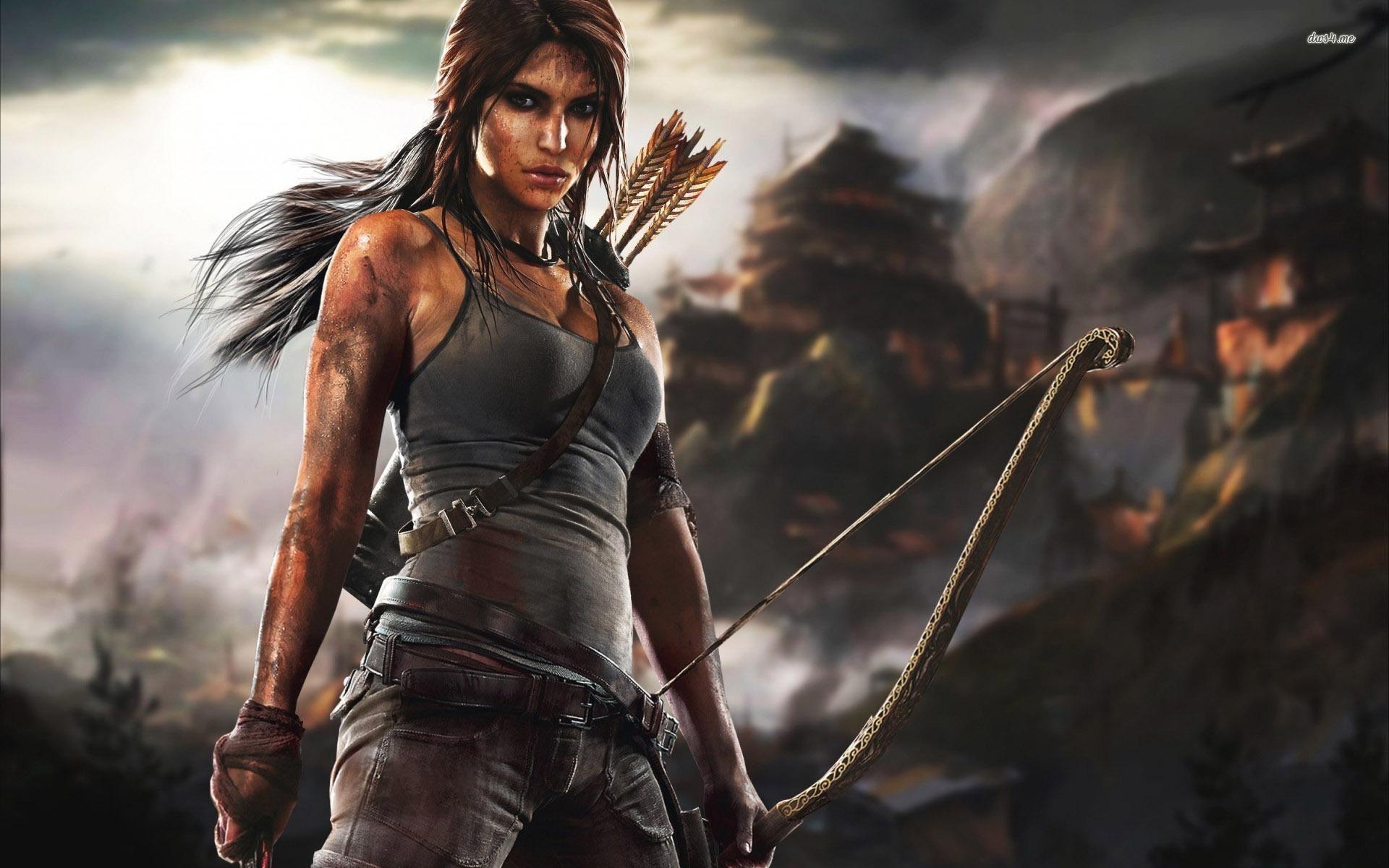 Free Download Lara Croft Tomb Raider Wallpaper Game Wallpapers