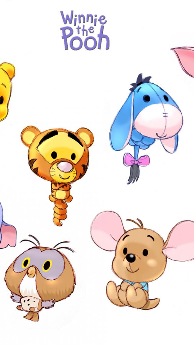 Pooh Mobile Wallpaper - WallpaperSafari