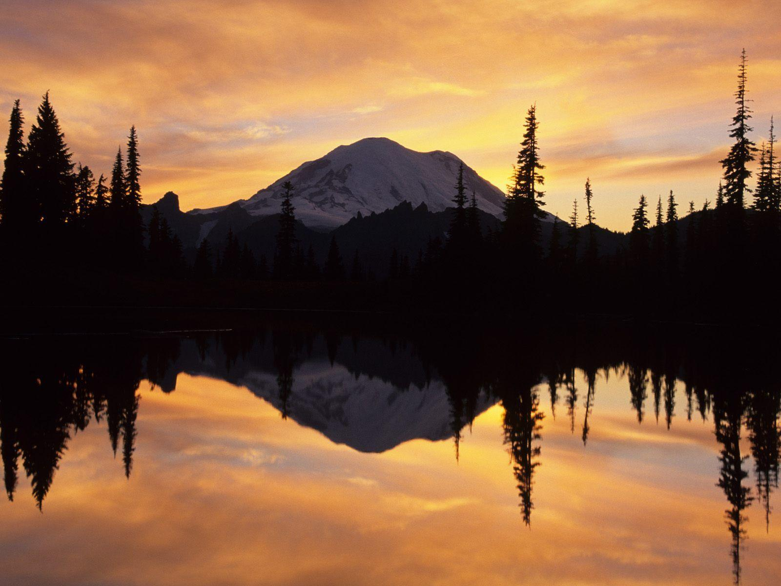 Mount Rainier National Park Wallpapers 1600x1200
