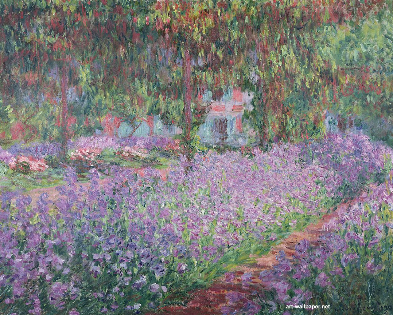 50 Claude Monet Wallpaper On Wallpapersafari