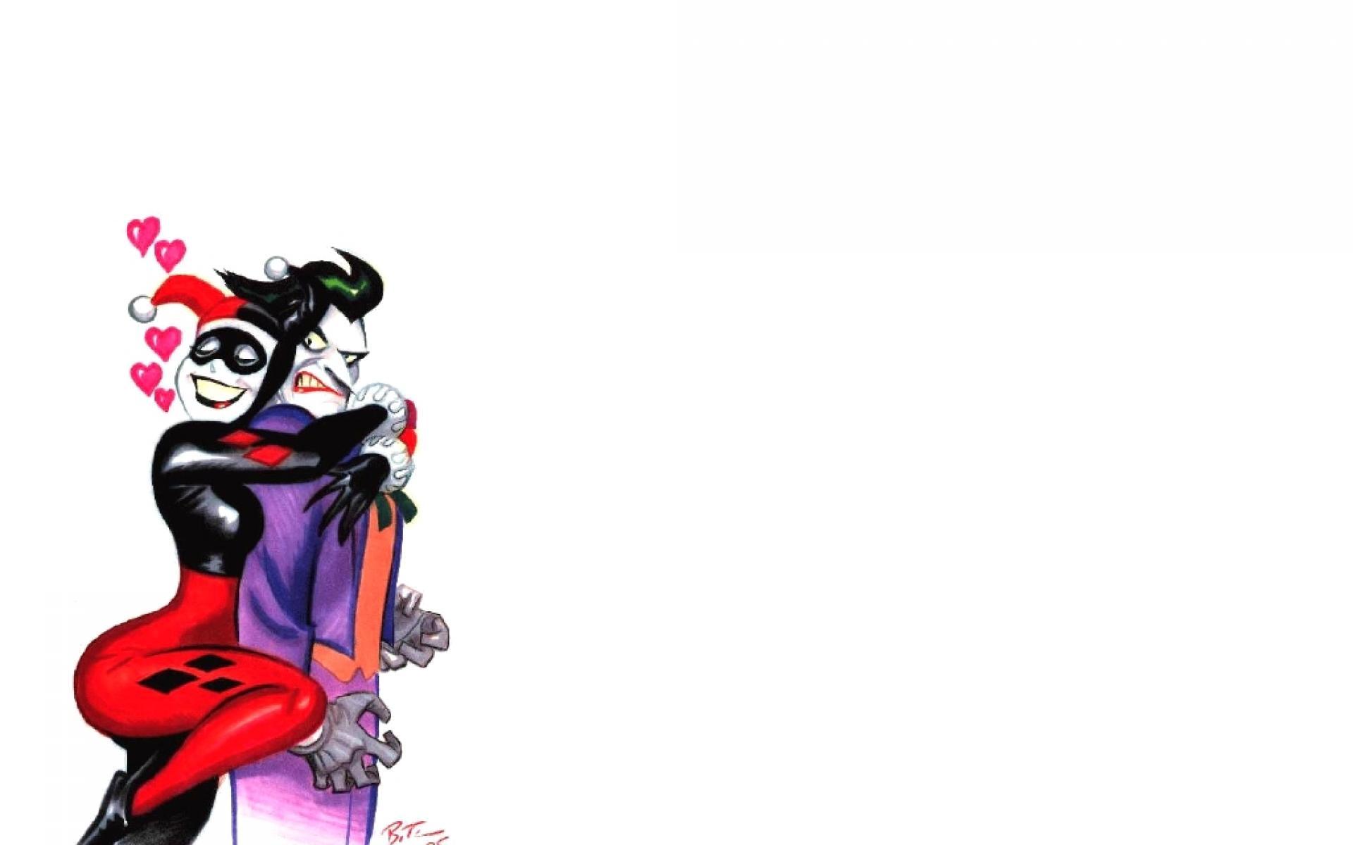 Harley Quinn and Joker Wallpaper 1920x1200