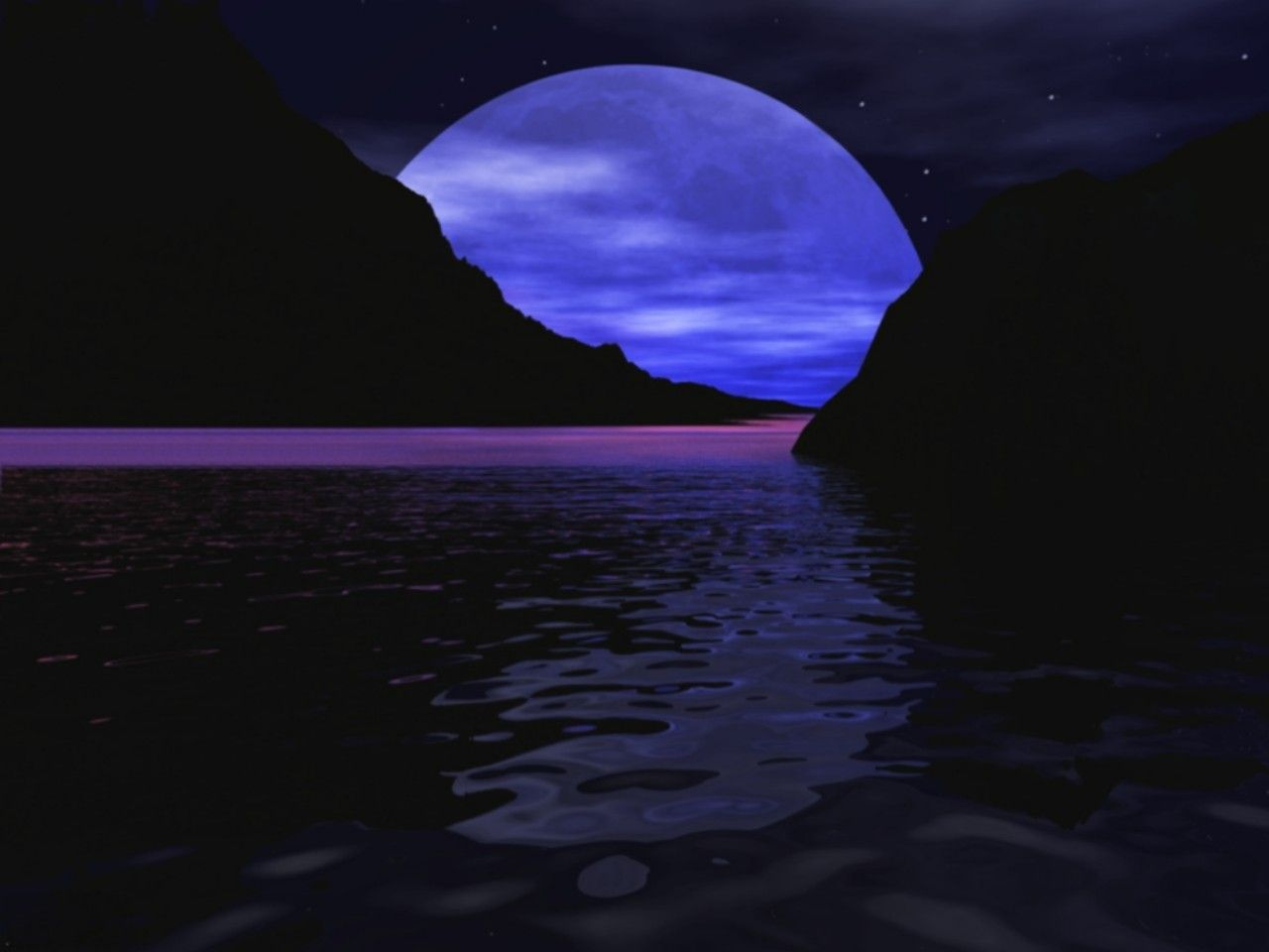 Cool Moon Backgrounds 1280x960