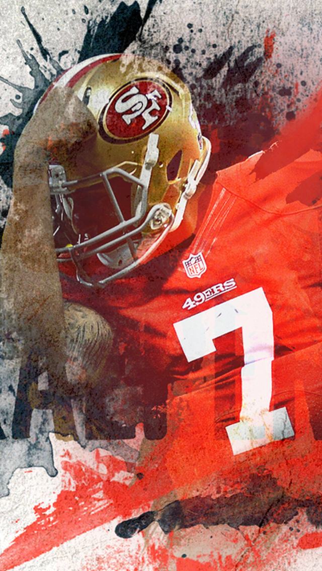 San Francisco 49ers Retina HD iPhone 5s Wallpapers 640x1136