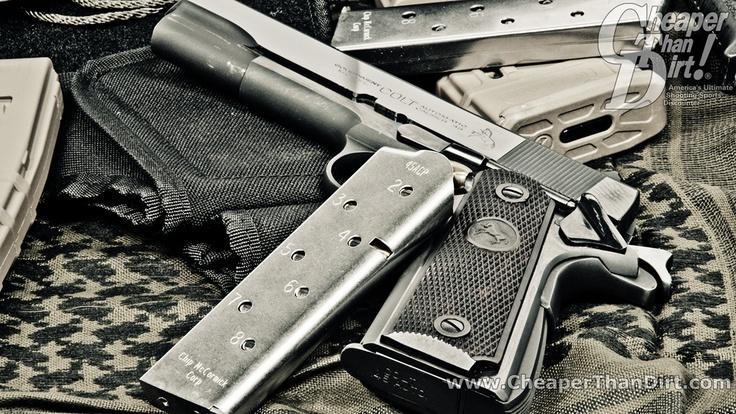 Colt 1911 Wallpaper Firearms Pinterest 736x414