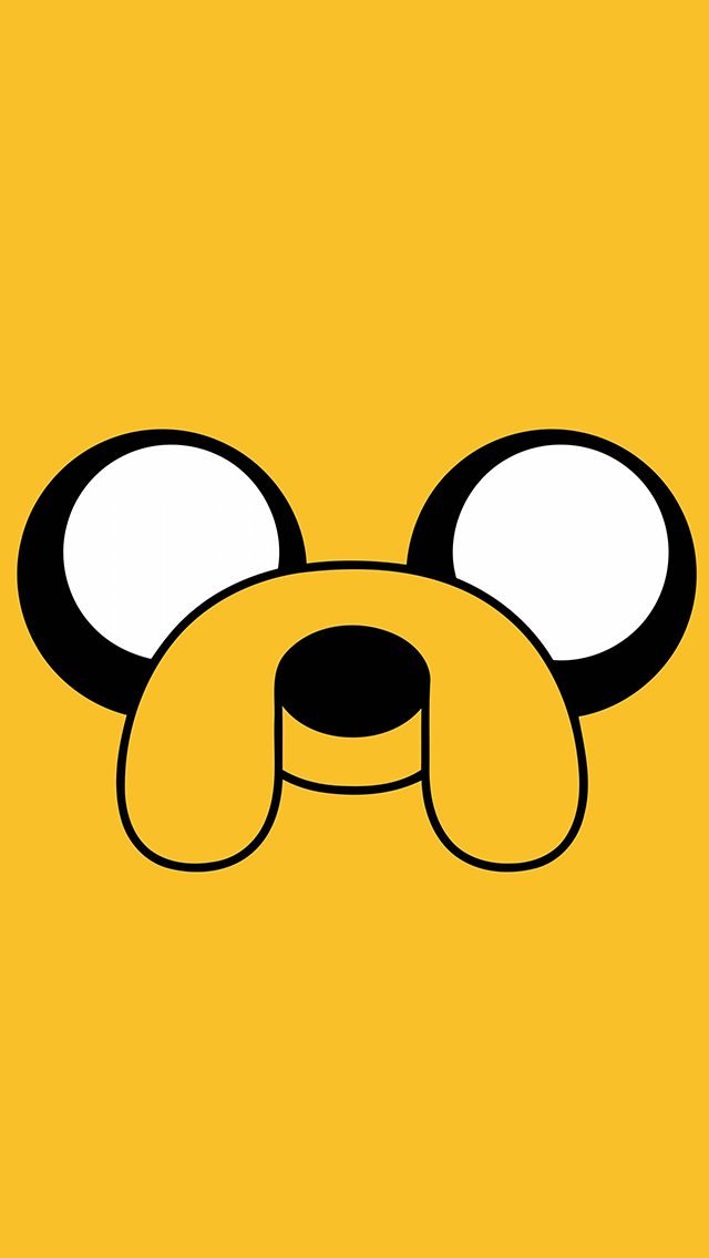 Adventure Time   Jake iPhone 5 Wallpaper and Background 640x1136