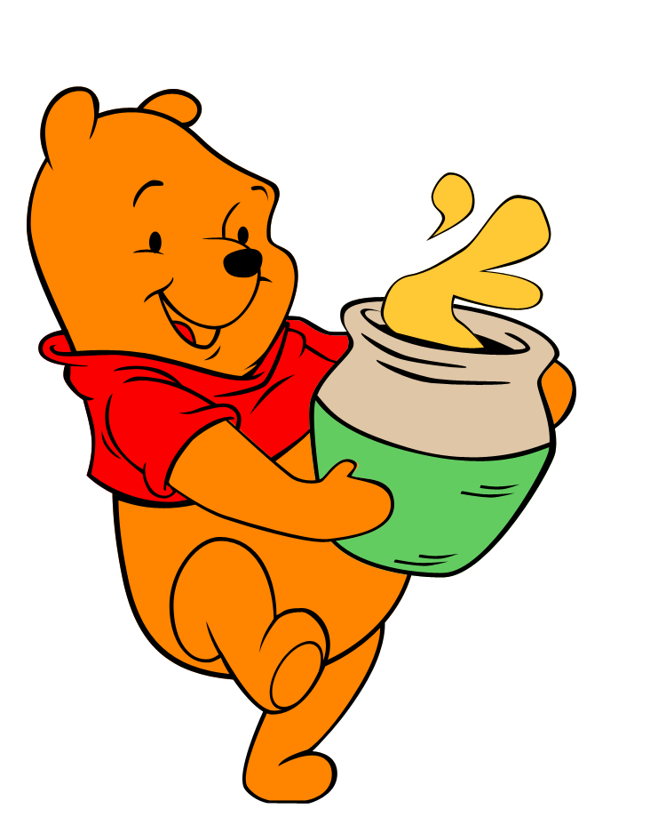 winnie the pooh Winnie the pooh (voiced by jim cummings) loves his honey, but he can't seem to find any in the hundred acre woodon his search for the sugary treat, he encounters his mopey donkey friend eeyore (bud luckey), who has somehow lost his tail.