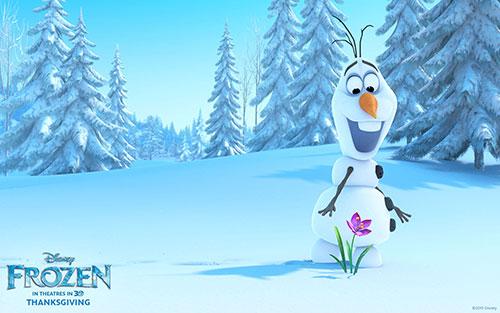 Frozen Movie Olaf HD Wallpaper 2 500x313