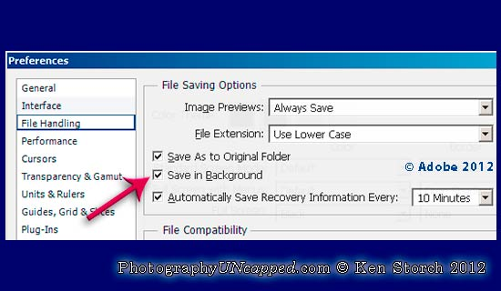 CS6 Now Can Save Files in the Background PhotographyUncapped 550x320