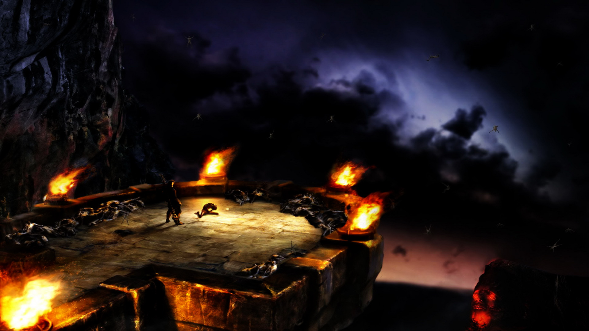 HD Wallpapers Playstation 3 Wallpapers Video Games dantes inferno 1920x1080