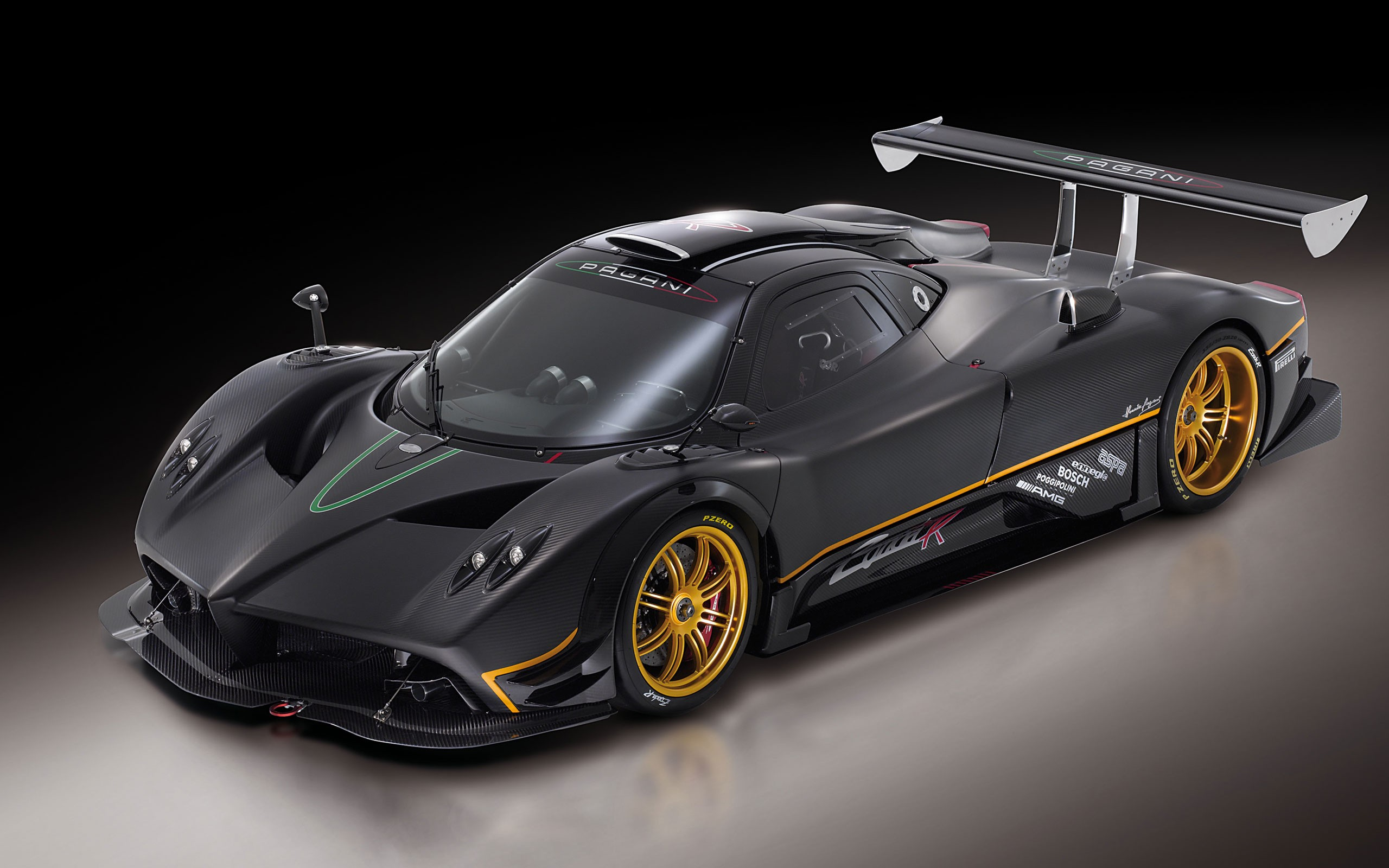 Pagani Zonda High Resolution Wallpaper Desktop Background 2560x1600