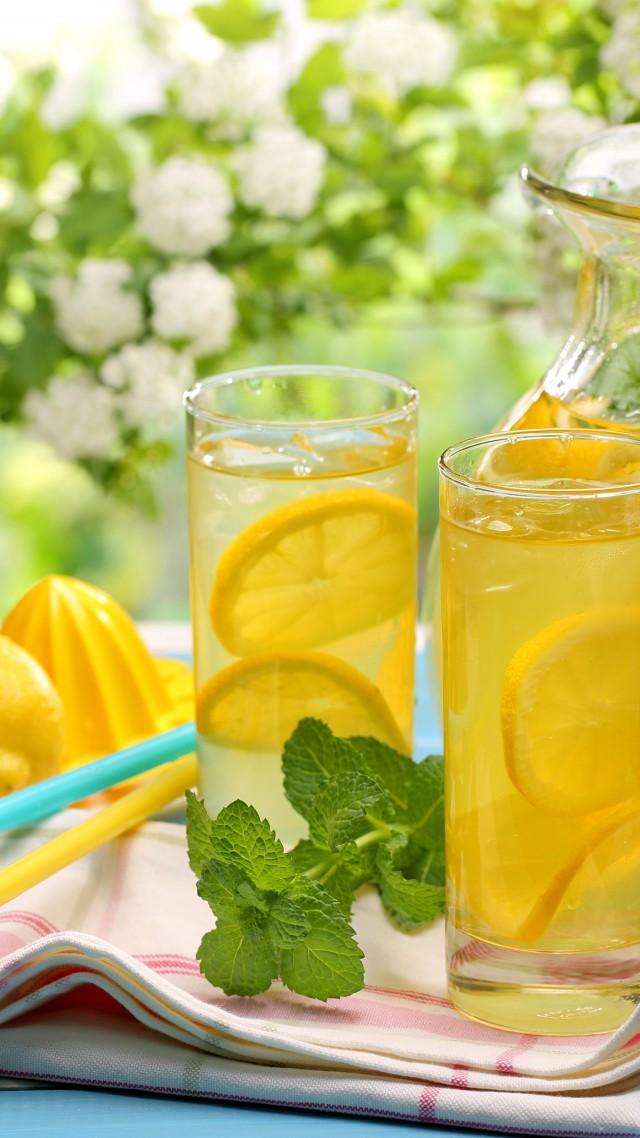 Lemon Lemonade Drinks Cocktails Juice Summer Sun   Summer 640x1138