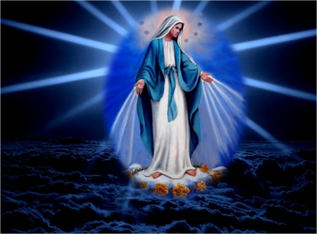 Virgin Mary   Collages Abstract Background Wallpapers on 450x332