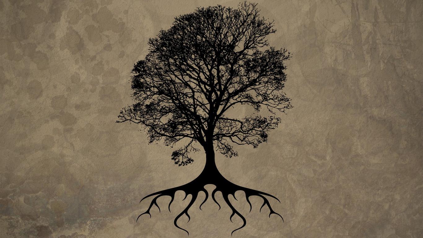 Tree of life wallpaper 5119 1366x768