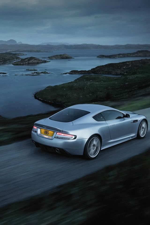 Aston Martin Simply beautiful iPhone wallpapers 640x960