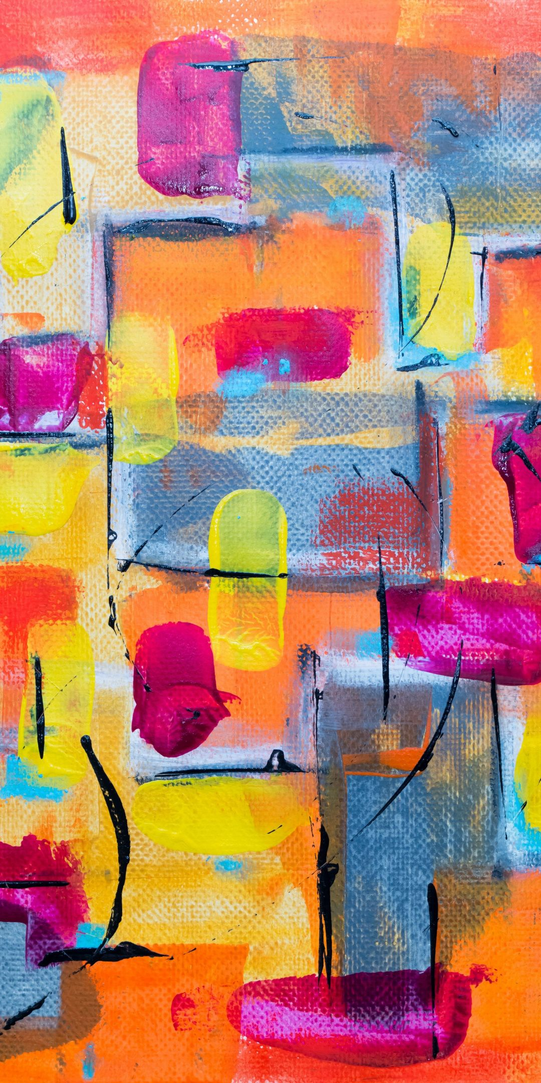 Paint canvas stains art 1080x2160 wallpaper in 2020 Abstract 1080x2160
