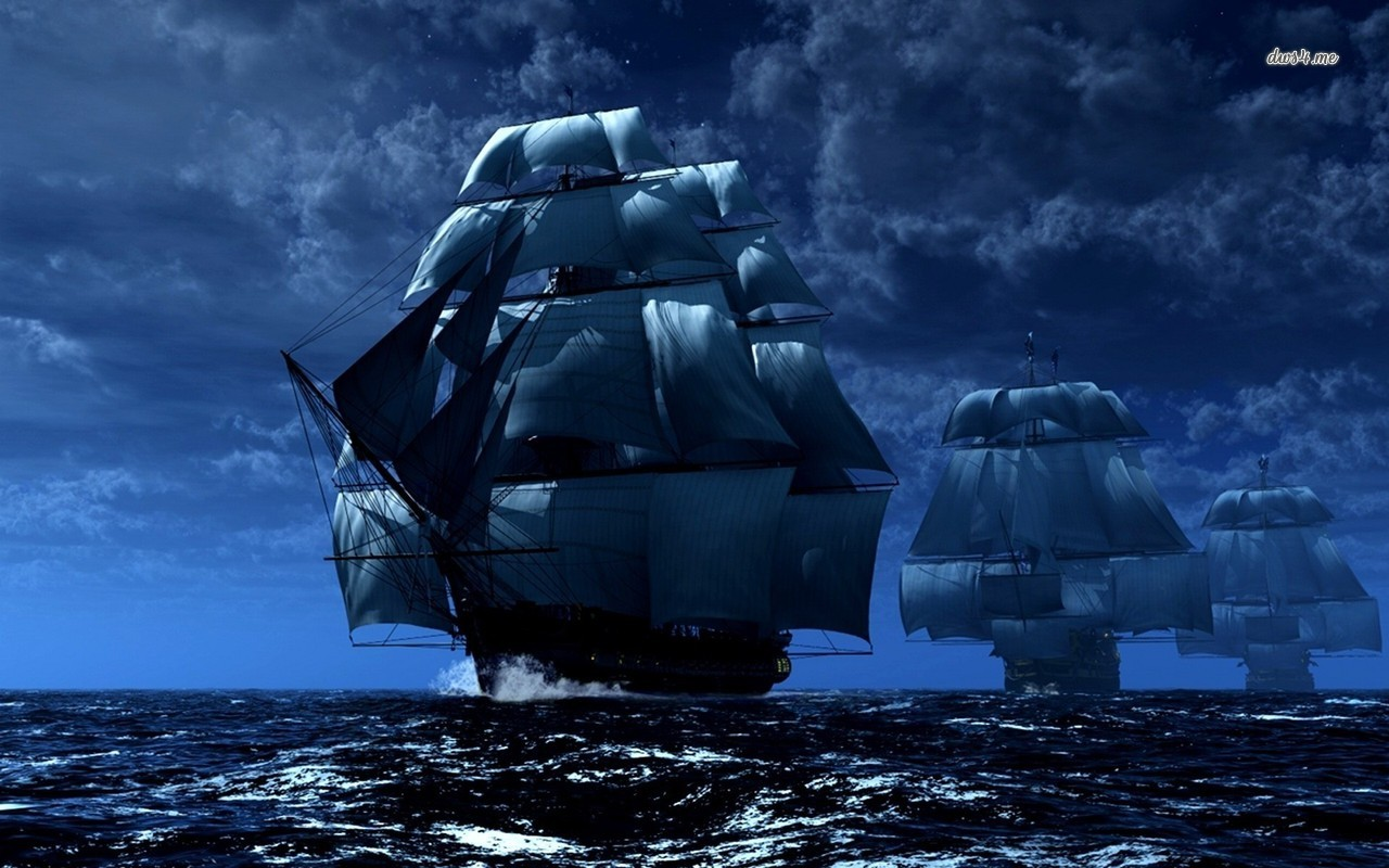 Pirate ships wallpaper   Fantasy wallpapers   20496 1280x800