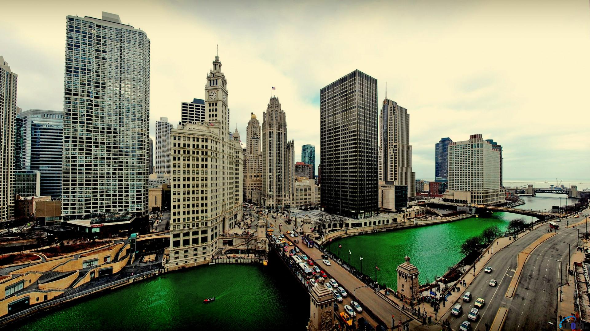 Download Wallpaper Chicago Illinois 1920 x 1080 HDTV 1920x1080