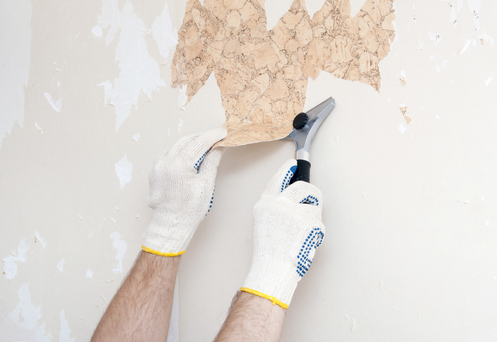 If you plan to remove wallpaper in your home or office you need to 1000x688