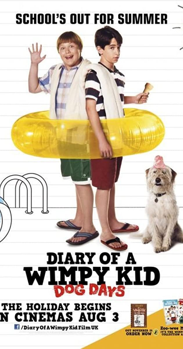 Diary of a Wimpy Kid Dog Days 2012   Full Cast Crew   IMDb 630x1200