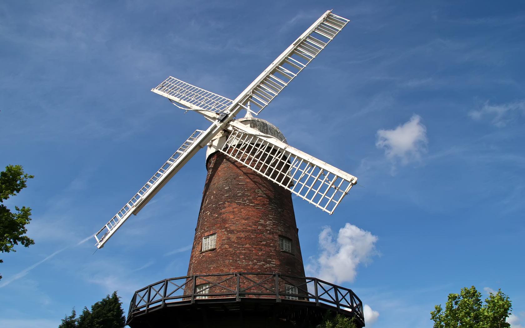 Windmills Wallpaper - WallpaperSafari