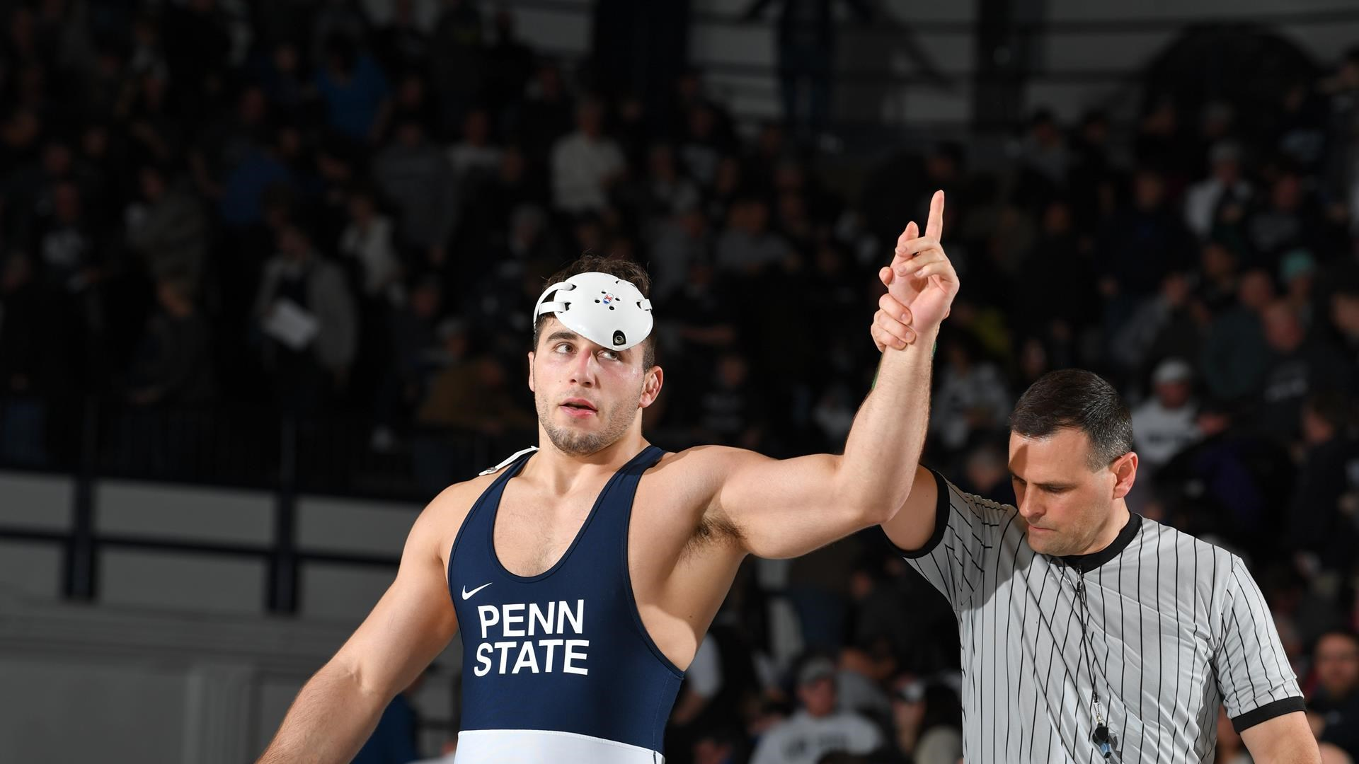 No 1 Penn State Downs No 19 Wisconsin in Sold Out Rec Hall 1920x1080