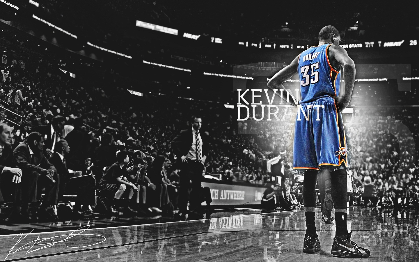 Kevin Durant Wallpapers 1440x900