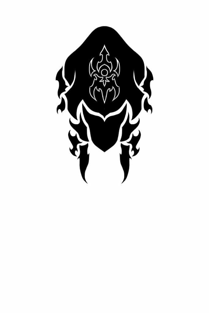 WARFRAME Ash   Tribal Helmet by RazulDarkwood 682x1024
