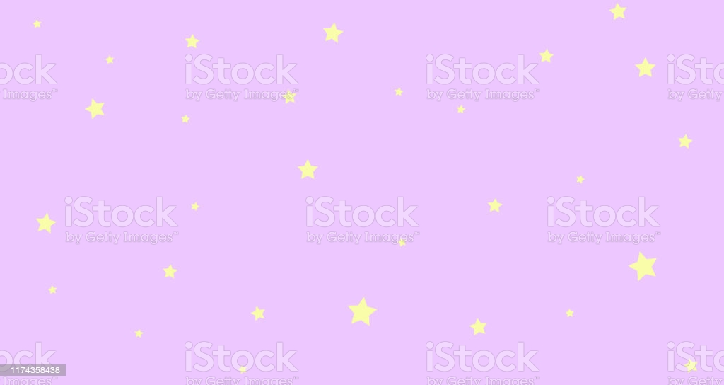 Abstract Kawaii Cloudy Colorful Sky And Stars Background Soft 1024x544