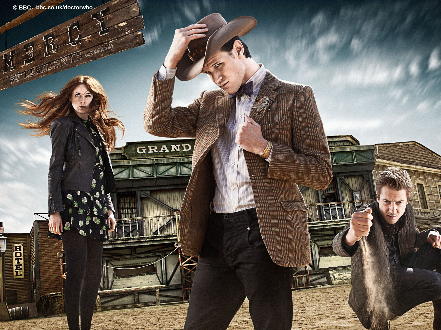 BBC Latest News   Doctor Who   Doctor Who A Town Called Mercy 1764x1320