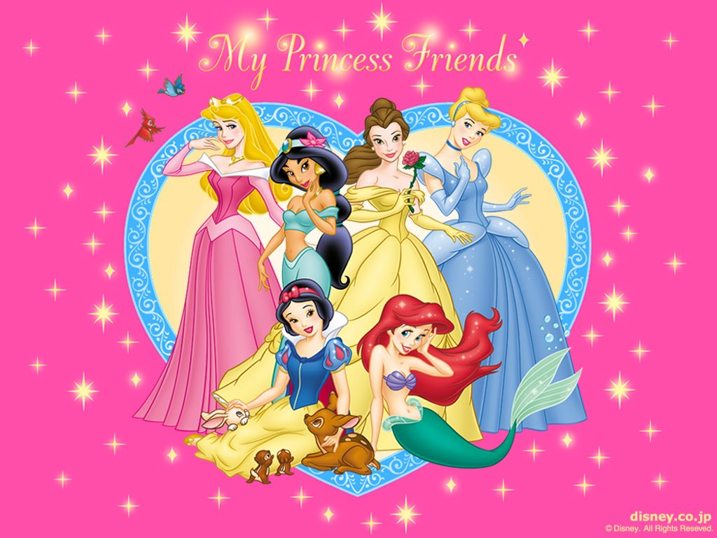 wallpaper disney princess wallpapers 4 1024x768