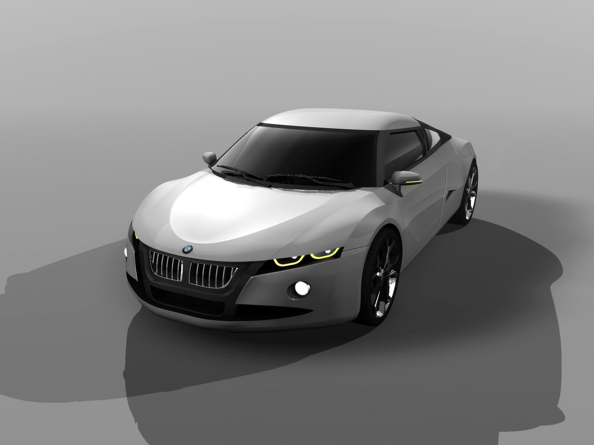 2010 BMW M2 Concept Design of Amadou Ndiaye   Front Angle Top 1920x1440