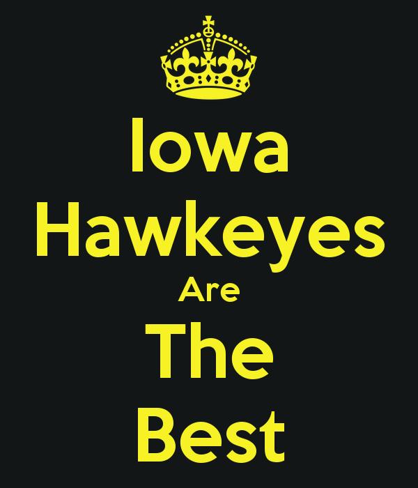 Iowa Hawkeyes 600x700