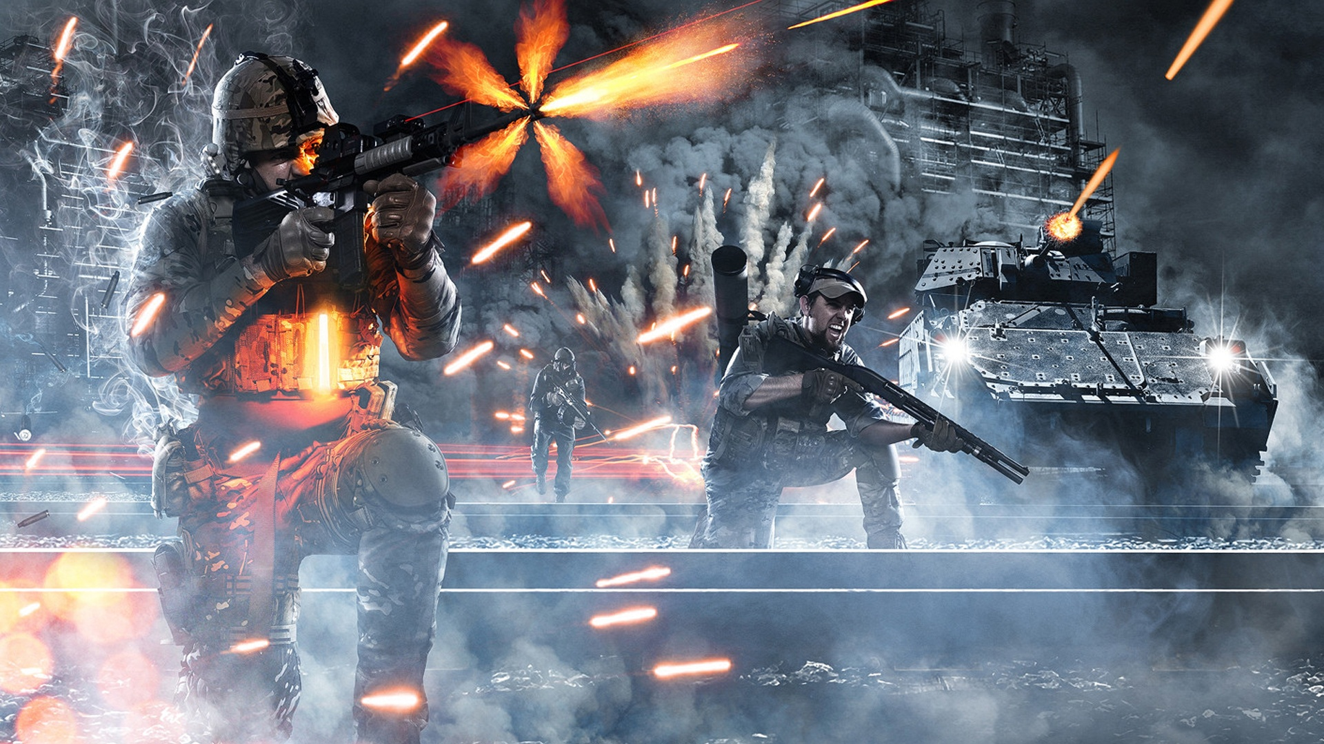 Battlefield 3 солдат линии оружие  № 3460741 бесплатно