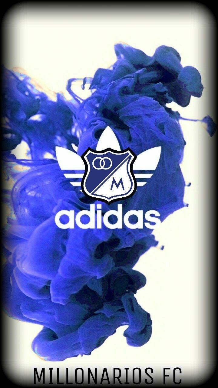 Humo azul millonarios fc Adidas Wallpaper Adidas y Home Decor 720x1280