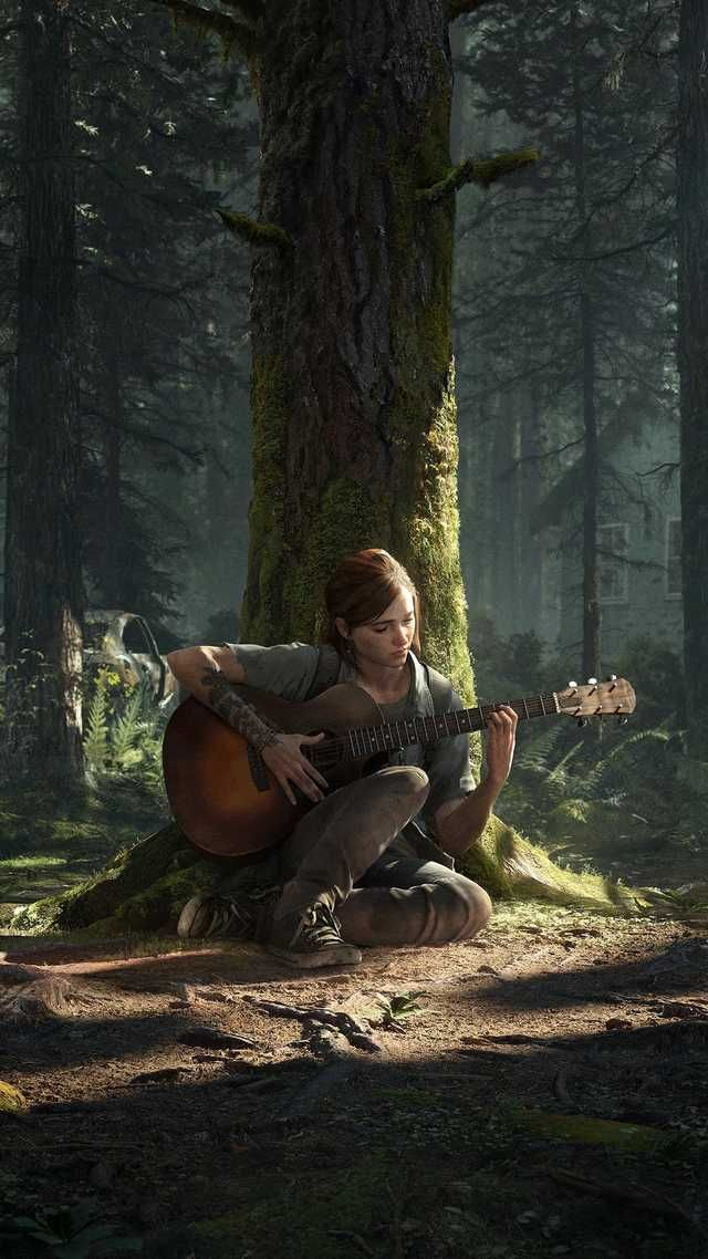 The Last of Us Part ll Wallpaper in 2020 The lest of us The 640x1138