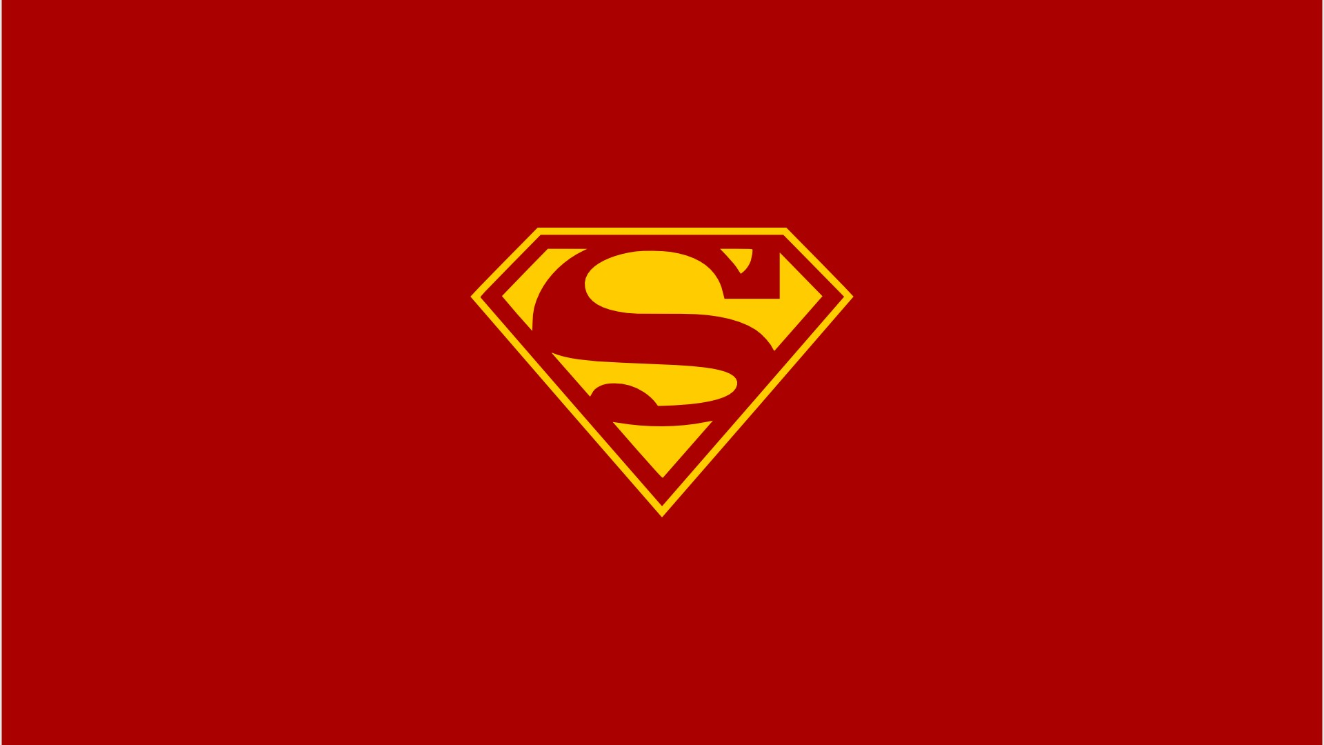 Red dc comics superman superheroes logo simple wallpaper   ClipArt 1920x1080